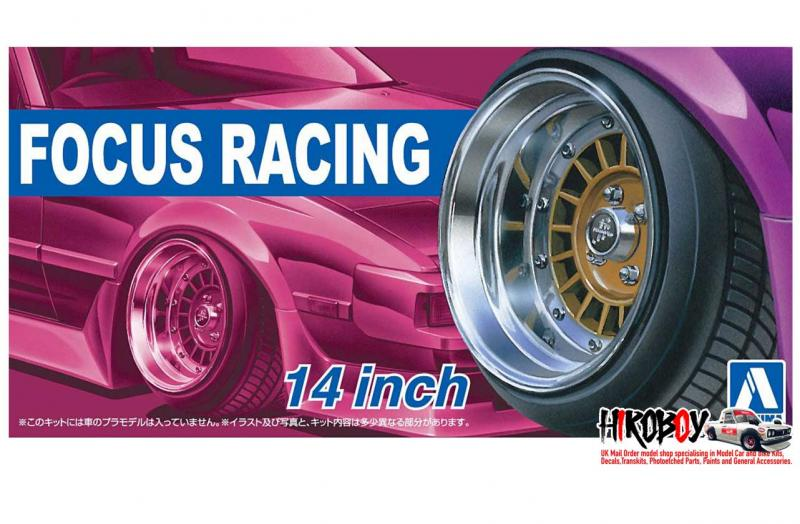 "1:24 14"" Focus Racing Wheels and Tyres"