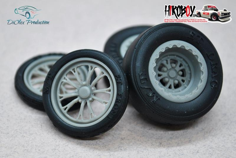 "1:24 15/17"" Wheels Weld Wheels V-Series with Tyres"