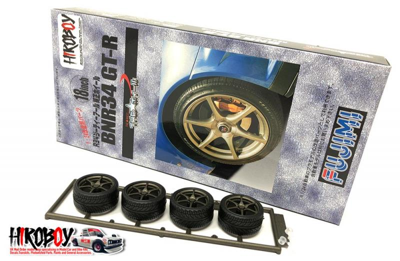 "1:24 18"" Nissan Skyline R34 GT-R Wheels and Tyres"