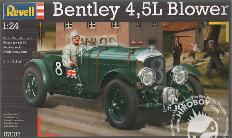 1:24 1930 4.5 Litre Bentley Blower