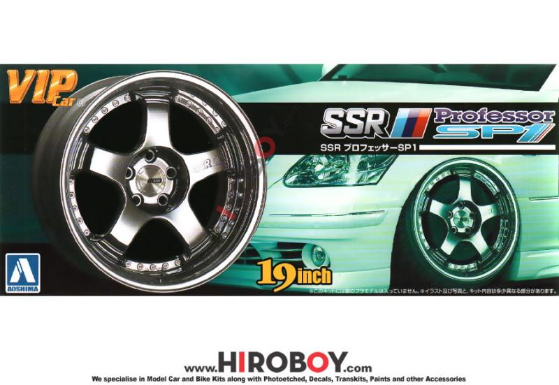 "1:24 19"" SSR Professor SP1 Wheels and Stretch Tyres"