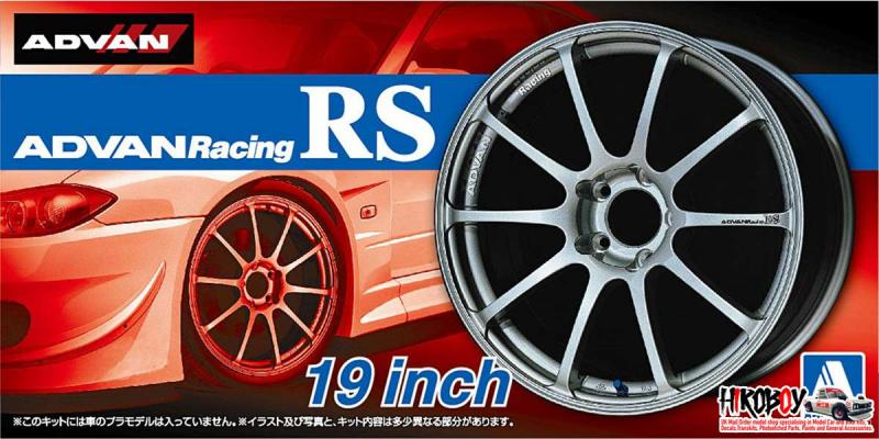 "1:24 Advan Racing RS 19"" Wheels and Tyres #45"