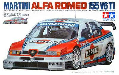 1:24 Martini Alfa Romeo 155 V6 TI - Ltd re-issue