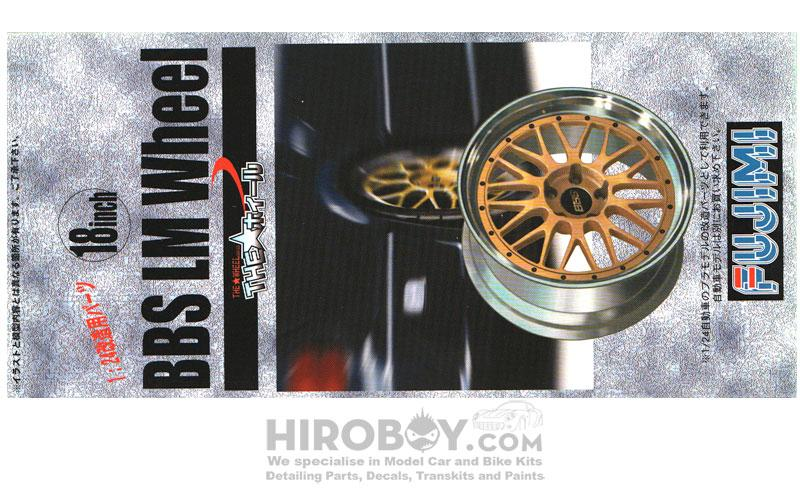 "1:24 BBS 18"" LM Wheel and Tyre Set"