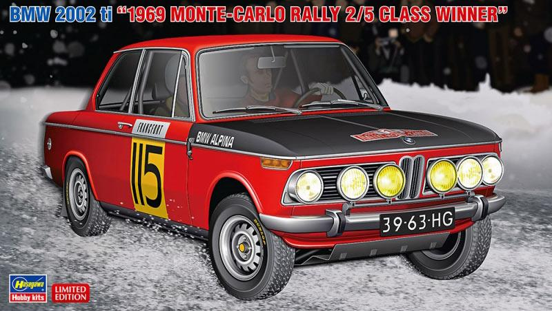 1:24 BMW 2002 ti '1969 Monte Carlo Rally Class 2/5 Class Winner'