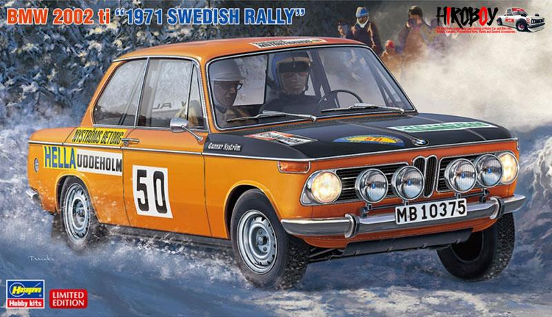 1:24 BMW 2002 ti '1971 Swedish Rally'