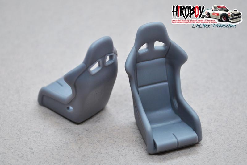 1:24 Bride Zeta Plus Resin Sport Seats
