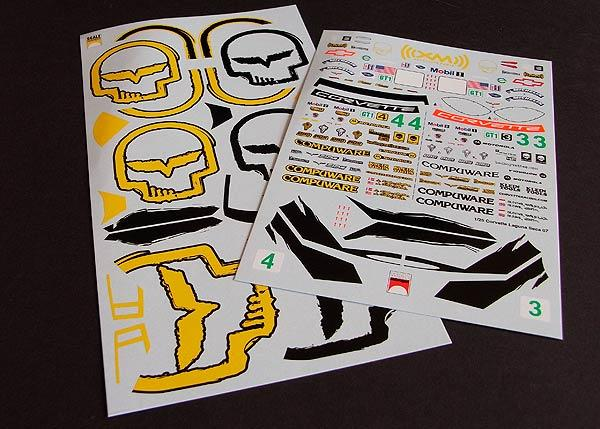 1:24 Corvette CR6 BadBoyVettes Decals #2020