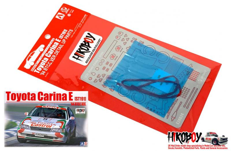 1:24 Detail Up Parts for Beemax Toyota Carina E BTCC Version