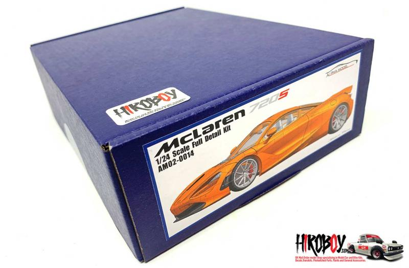 1:24 Mclaren 720S - Full Resin Model kit