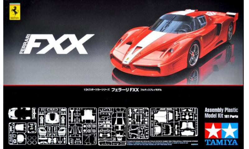 1:24 Ferrari FXX 24292  -  Limited Re-Issue at Hiroboy ONLY