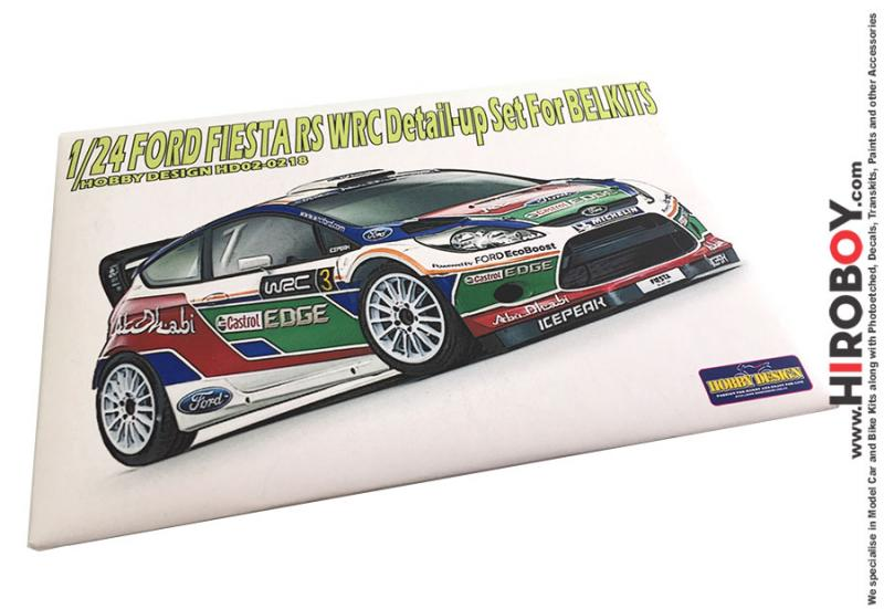 1:24 Ford Fiesta RS WRC Photoetch Detail-Up Set for Belkits
