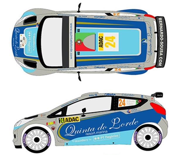 1:24 Ford Fiesta S2000 #24 Rally Germany 2011 Decals (Belkits)