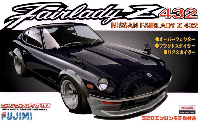 1:24 Nissan Fairlady Z432 c/w S20 Engine | FUJ-038421 | Fujimi