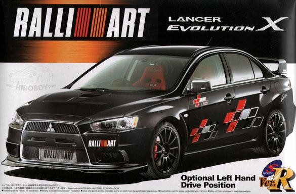 1:24 Lancer Evolution X (Ralliart Version)