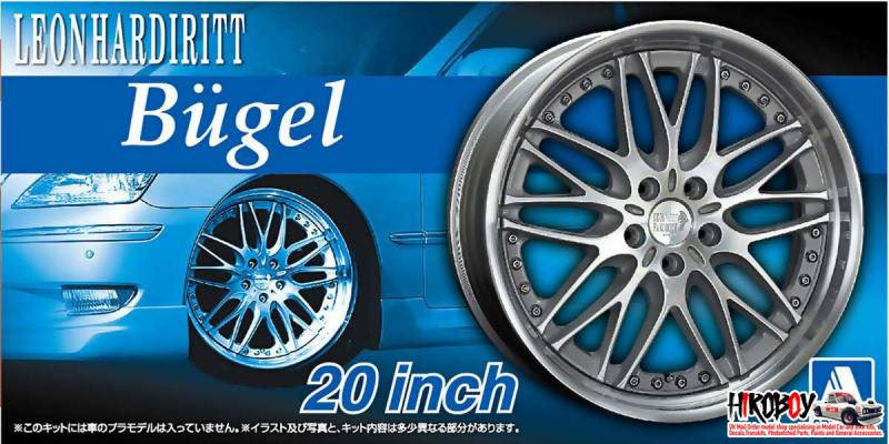 "1:24 Leon Hardiritt Bugel 20"" VIP Wheel and Tyre Set"