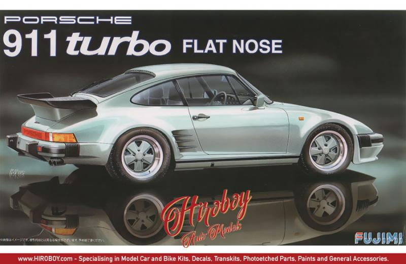 1:24 Porsche 911 Turbo Flat Nose