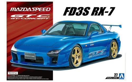 1:24 Mazdaspeed RX-7 A Spec GT Concept