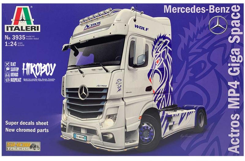 1:24 Mercedes Benz Actros Gigaspace - Show Truck