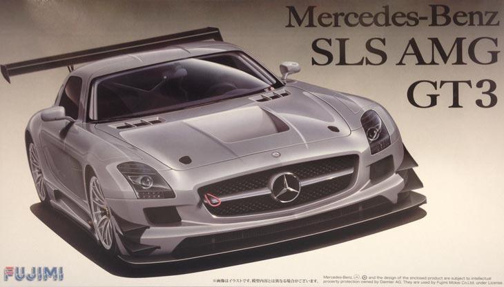 1 24 mercedes benz sls amg gt3 fujimi fuj 125695 fujimi for Mercedes benz sls amg gt3 price