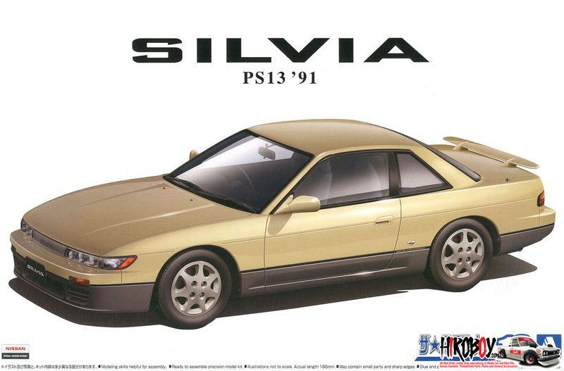 1:24 Nissan PS13 Silvia K`s Diamond Package `91
