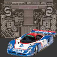 1:24 Nissan R89C GT1 Photoetched Detail Set #8014