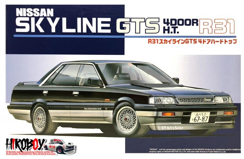 1:24 Nissan Skyline R31 GTS 4 Door