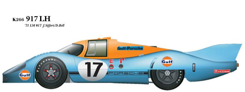 1:24 Porsche 917LH-71 no.17 Multi-Media Model Kit