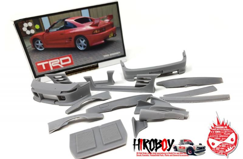 1:24 Toyota TRD MR2 - 2000GT Transkit for Fujimi