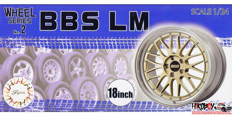 "1:24 BBS LM 18"" Wheels and Tyres (#2)"