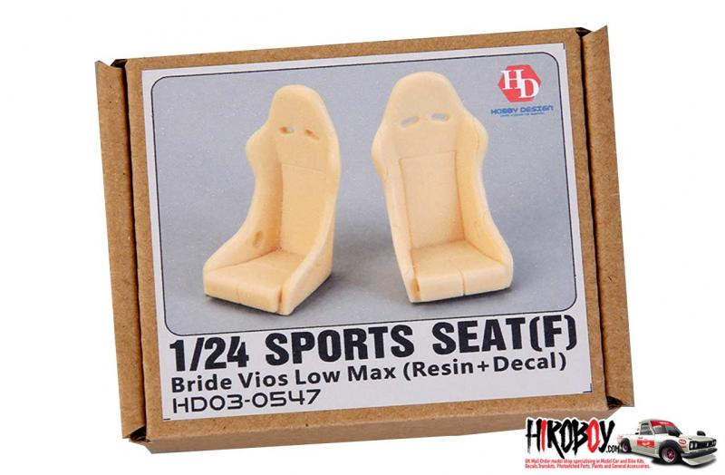 1:24 Bride Vios Low Max Sports Seats F (Resin)