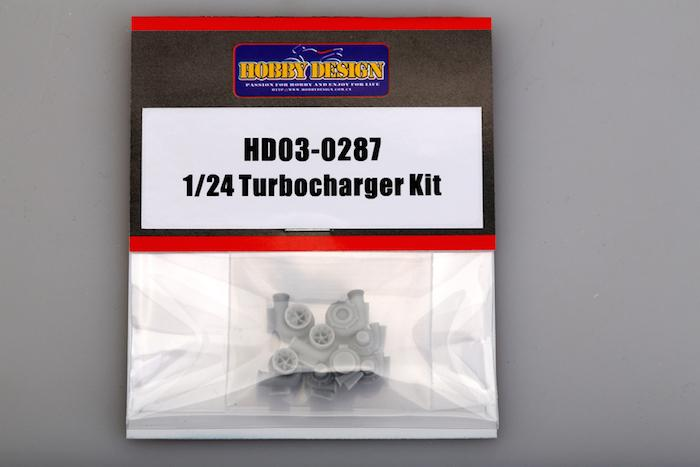1:24 Resin Turbo Charger Kit
