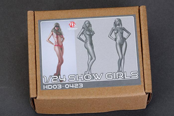 1:24 Show Girl Resin Figure - HD03-0423
