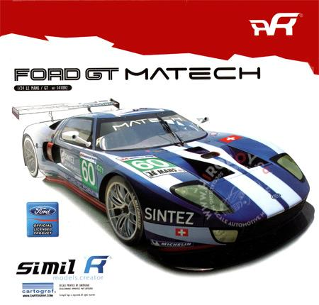 1:24 Simil'R Ford GT GT1 2010 Le Mans