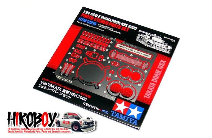 1:24 Takata Dome NSX 2005 Photoetched Parts