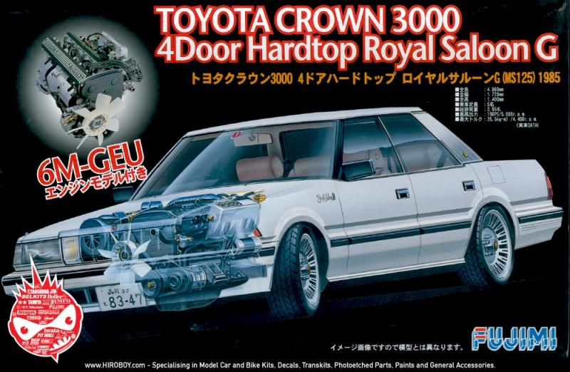 1:24 Toyota Crown 3000 4 Dr Hardtop Royal Saloon G
