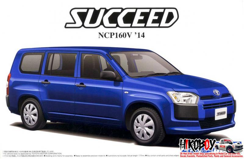 1:24 Toyota NCP160V Succeed `14