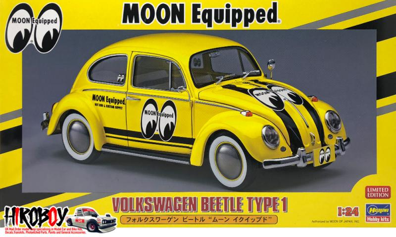 1:24 Volkswagen Beetle Type 1 'Moon Equipped'