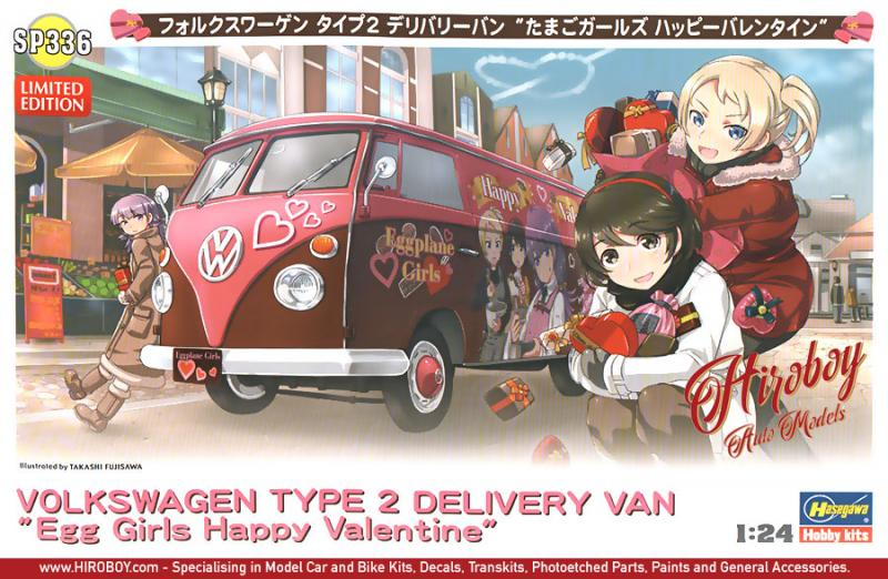 "1:24 Volkswagen Delivery Van ""Egg Girls Happy Valentine"""