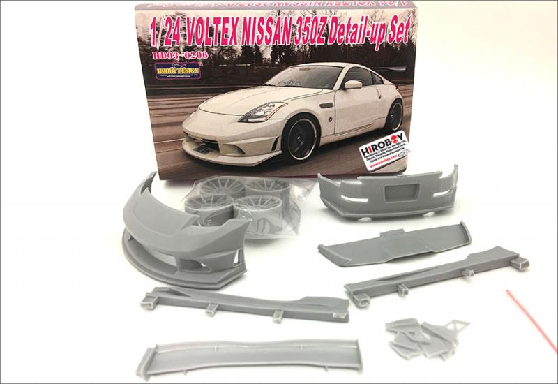 1:24 Voltex Nissan 350Z Detail Up Transkit