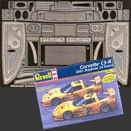 1:25 Corvette C5-R Photoetched Detail Set #8110