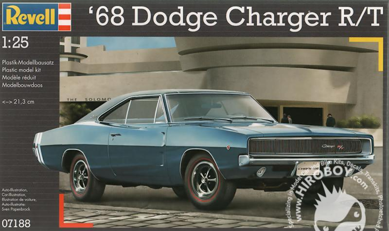 1:25 1968 Dodge Charger R/T