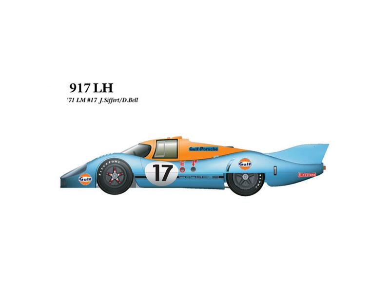 1:43 Porsche 917LH 71 ver.A No.17 Multi-Media Model Kit