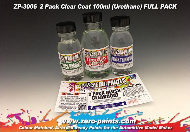 2 Pack GLOSS Clearcoat System (2K Urethane)