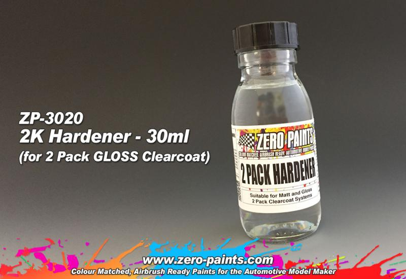 30ml Spare Hardener for (2 Pack GLOSS Clearcoat Set ZP-3006)