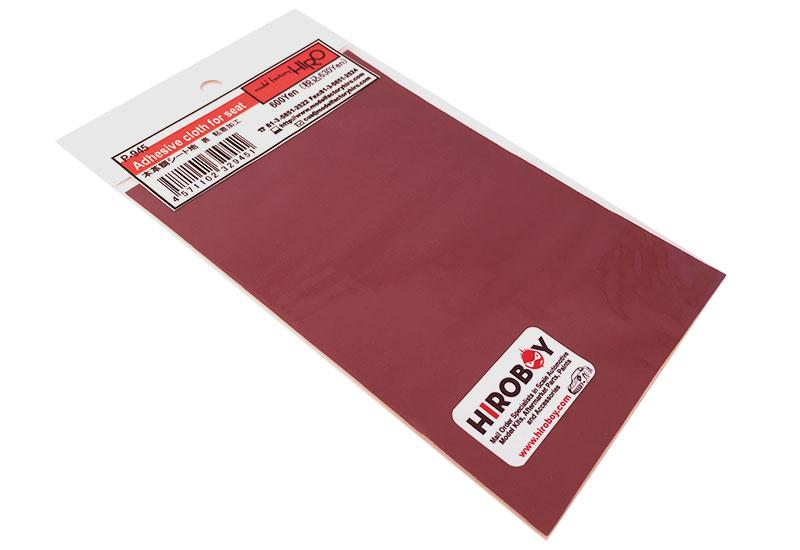 Adhesive Leather Look cloth Red - P945