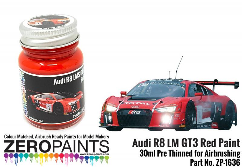 Audi R8 LM GT3 Red Paint 30ml
