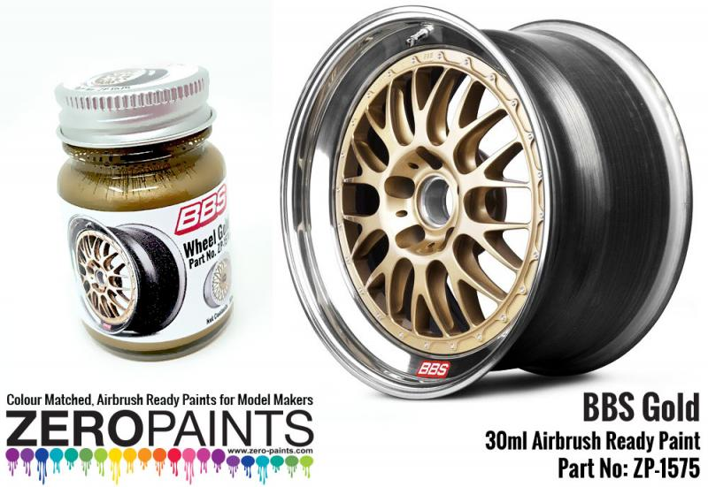 BBS Wheel Gold Paint 30ml