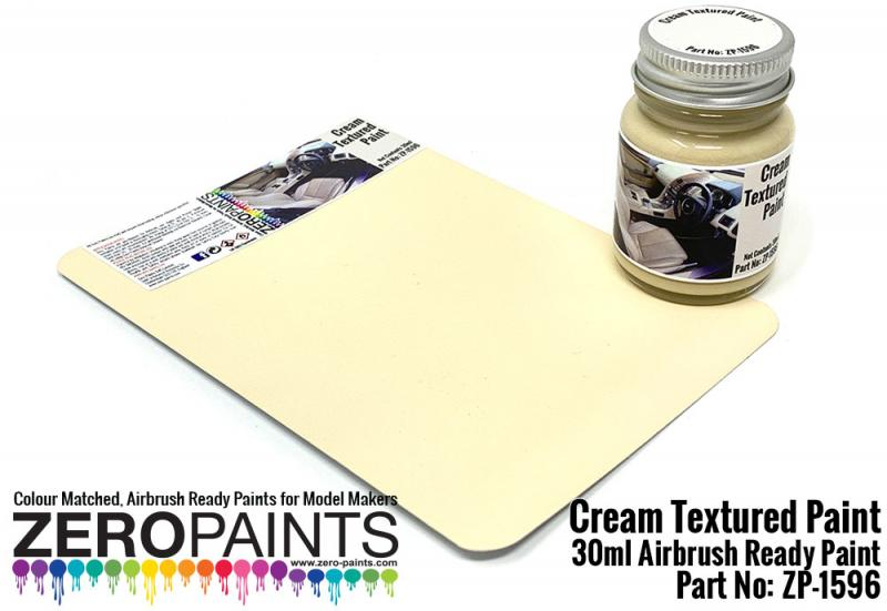 Cream Textured Paint 30ml