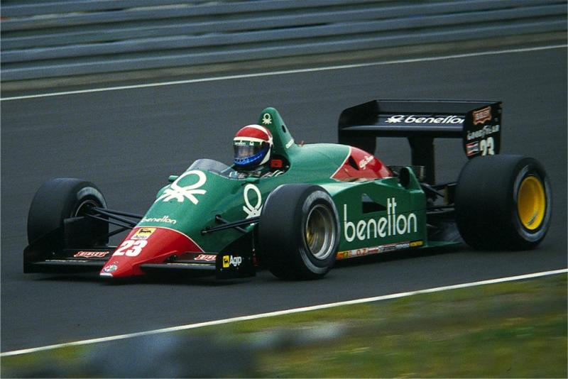 Benetton Team Alfa Romeo 185T Green Paint 60ml